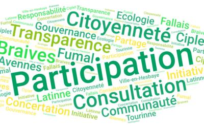 Participation et transparence – une vision pour demain
